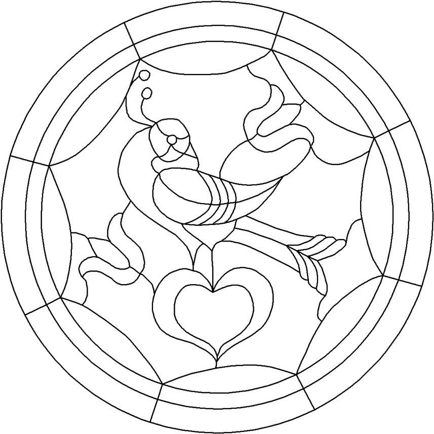 hex signs coloring pages - photo#9